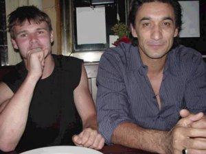 Brett a Sifu Emin na veceri