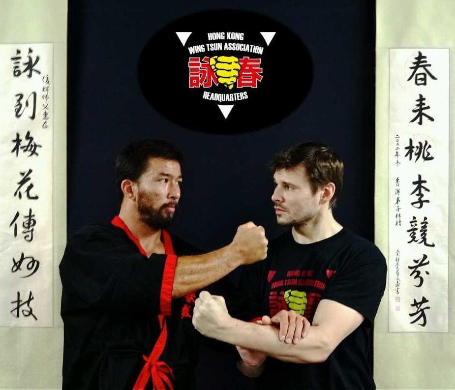 Foto 11 - Sifu Chris a Brett Slansky v Hongkongske skole Chrise Collinse