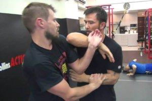 Sifu Chris Collins Brett Slansky Private Chi Sau Training